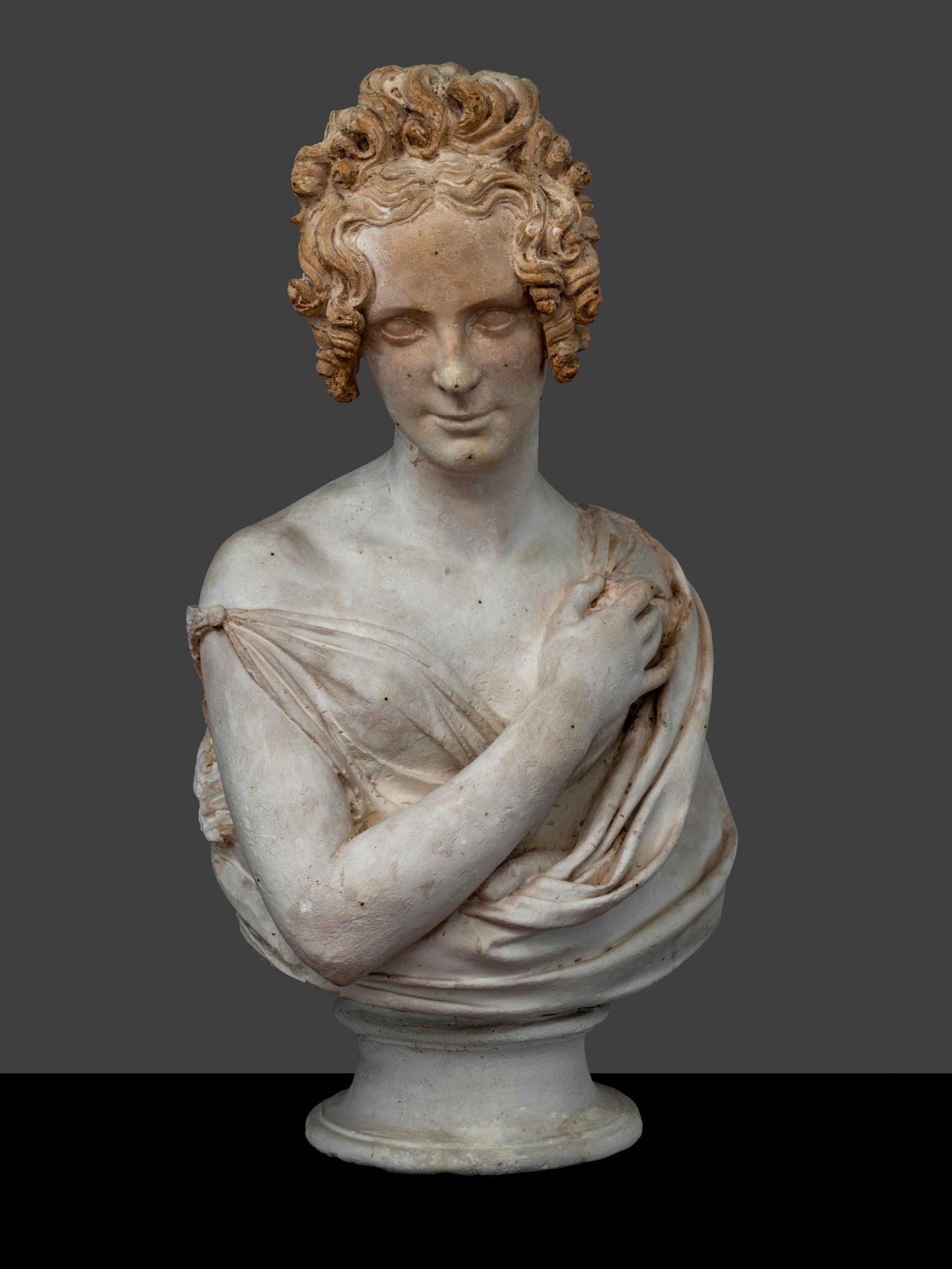 inv. scult. 1569 busto femminile. ph. a. quattroneaqtt1062