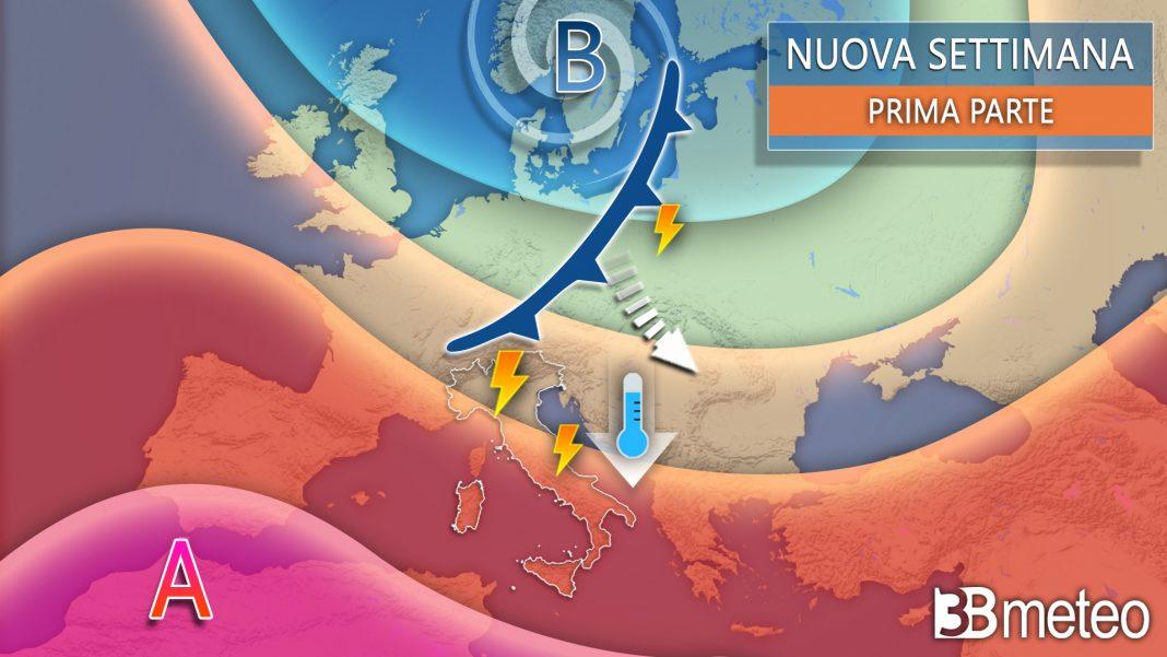 nuova settimana prima parte meteo italia v2